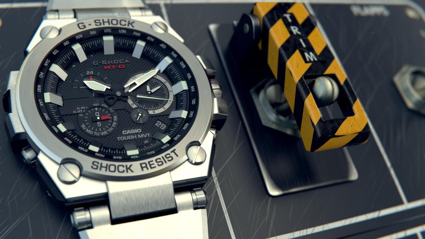 G-SHOCK Produkt Visualisierung